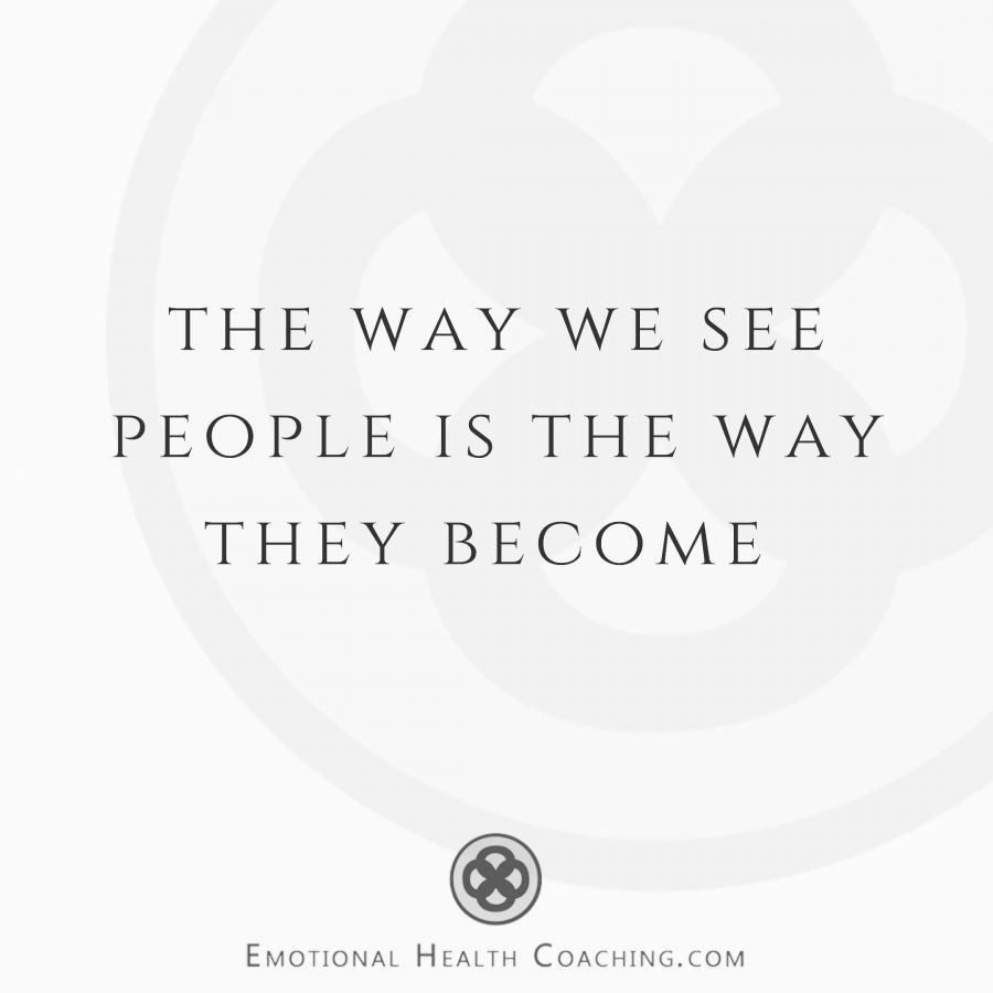 the way we see our partner determines how they become